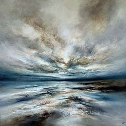 Blustery Coast by Chris and Steve Rocks -  sized 39x39 inches. Available from Whitewall Galleries